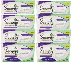 Absorvente Geriatrico Security Unissex-400 Unidades