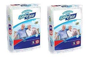 Fralda Geriatrica Estilo Care Uso Adulto- G 100 unidades