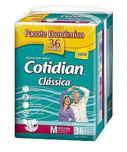 Fralda Geriatrica Cotidian Classica M 36 unid