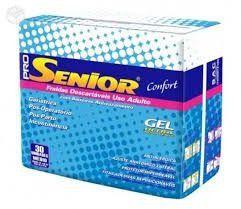 Fralda Geriatrica Pro Senior Confort M- 30 unidades