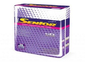 Fralda Geriatrica Pro Senior Confort XG 26 unidades