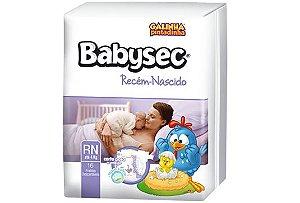 Fralda Infantil Babysec Recém-Nascido - 16 unidades