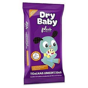 Toalhas Umedecidas Dry Baby Plus - 50 unidades