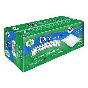 Lençol Protetor Multiuso Descartável Masterfral Dry c/6 unid