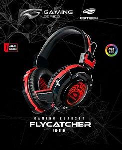 Fone De Ouvido Mic C3tech Gamer Flycatcher Ph-g10bk