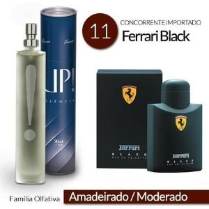 PERFUME UP! 11 -  – FERRARI BLACK* – MASCULINO 50 ML