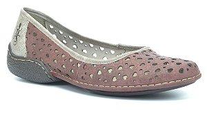 Sapatilha Wuell Casual Shoes - QC 0500 - vermelho  glace