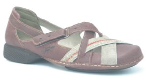 Sapato feminino em couro Wuell Casual Shoes - Lincancabur - AD 0900 - vermelho glace