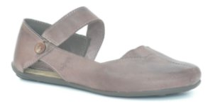 Sapato Feminino em couro Wuell Casual Shoes - SISA - 026620- stone chocolate