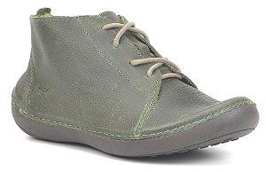 Bota Feminina em Couro Wuell Casual Shoes - Valle del Arcoiris - TI 304 - verde