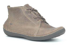 Bota Feminina em Couro Wuell Casual Shoes - Valle del Arcoiris - TI 304 - cacau
