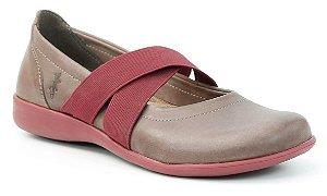 Sapato Feminino em couro Wuell Casual Shoes - Miscanti - 107641 - chocolate