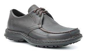 Sapato Masculino em Couro Wuell Casual Shoes - SUP 06 - café