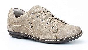 Sapato Feminino em couro Wuell Casual Shoes - Tiradentes - MA 0058 - avelã