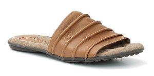 Sandália Feminina em couro Wuell Casual Shoes - Lavras Novas  - VN 254232 - castanho