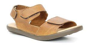 Sandália Feminina Papete Wuell Casual Shoes - Catas Altas - NMB 0778 - castanho