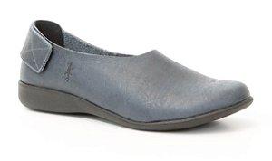 Sapato Feminino em couro Wuell Casual Shoes - SISA 113641 - marinho
