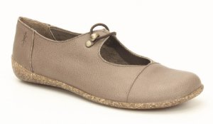 Sapato feminino em couro Wuell Casual Shoes  - YORI 3275 - marrom claro