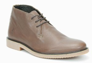 Bota Masculina em Couro Wuell Casual Shoes - Men - S 00219 - marrom