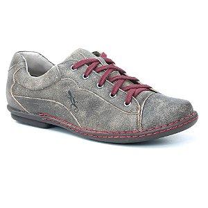 Sapatênis Feminino de couro Wuell Casual Shoes - KOYA - MA 5800 - marrom