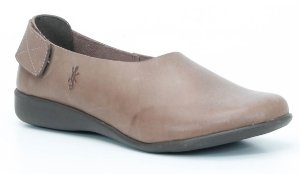 Sapato Feminino em couro Wuell Casual Shoes - SISA 113641 - marrom