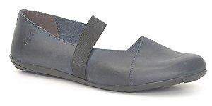 Sapatilha Feminina em couro Wuell Casual Shoes - Classic - VN 028620 - marinho