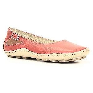 Sapatilha Feminina Wuell Casual Shoes - Classic - Madri 606 -  marfim e vermelho