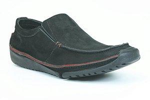 Sapato Masculino e Couro Wuell Casual Shoes - Havana 20 - preto