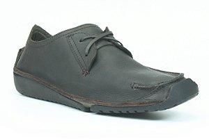 Sapato Masculino em Couro Wuell Casual Shoes - Men - Havana 10 - marrom