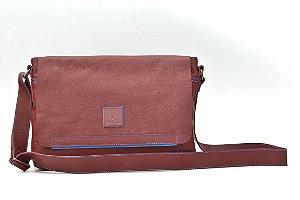 Bolsa Carteiro grande  em Couro Natural - BN 34215