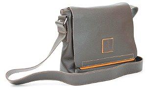 Bolsa Carteiro pequena em Couro Natural - BN 34515