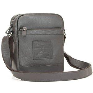 Bolsa Pequena em Couro Natural com alça de ombro - BN 45215 - marrom