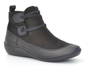 Bota Cano Baixo Wuell Casual Shoes - Classic - 75210 - PRETO