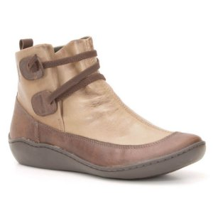 Bota Cano Baixo Wuell Casual Shoes - Classic - 75210 - marrom