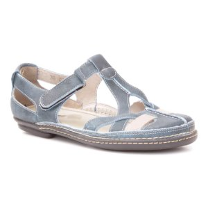 d39eee5264 Sapato Feminino em couro Wuell Casual Shoes - PUERTO NATALES - MA 0300 -  azul