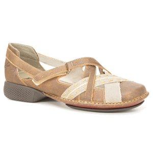 Sapato Feminino em couro Wuell Casual Shoes - PUERTO NATALES - JAD 0900 - laranja