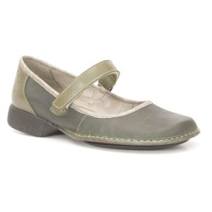 Sapato Feminino em couro Wuell Casual Shoes - PUERTO NATALES - JAD 4300 - verde