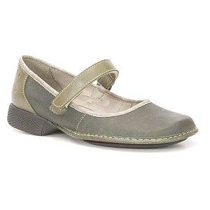 Sapato Feminino em couro Wuell Casual Shoes - JAD 4300 - verde