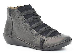 Bota Cano Baixo Wuell Casual Shoes - Classic - RO 75110 - preto