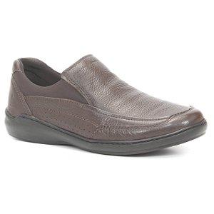 Sapato Masculino em couro Wuell Casual Shoes - MEN - TPS - 10140 - marrom