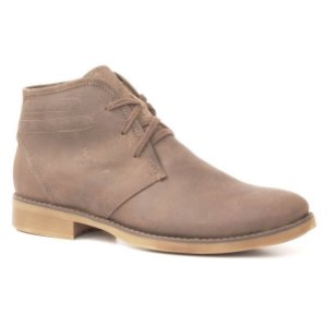 Bota Masculina em couro Wuell Casual Shoes - MEN - TPS - 20440 - marrom