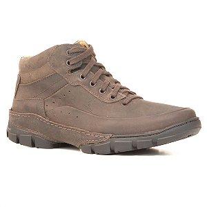 Bota Masculina em couro Wuell Casual Shoes - MEN - TPS - 40525 - marrom praire