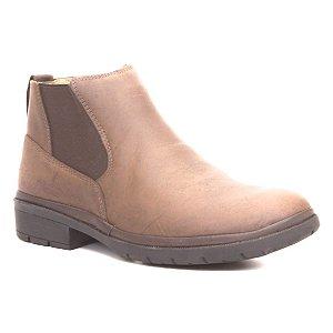 Bota Masculina em couro Wuell Casual Shoes - MEN - TPS - 60643B - marrom praire