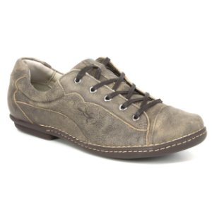 Sapatênis Feminino de couro Wuell Casual Shoes - PUERTO NATALES - JMA 5800  - marrom