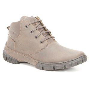 Bota Masculina em couro Wuell Casual Shoes - MEN - TPS - 81443B - marrom