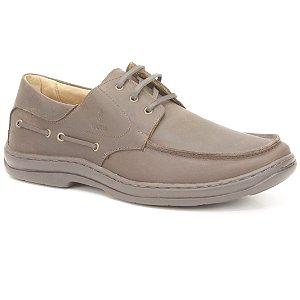 Sapato Masculino em couro Wuell Casual Shoes - MEN - TPS - 70643 - marrom