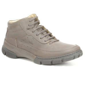 Bota Masculina em couro Wuell Casual Shoes - MEN - TPS - 80143B - marrom