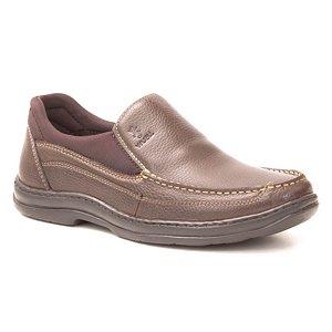 Sapato Masculino em couro Wuell Casual Shoes - MEN - TPS - 70543 - marrom