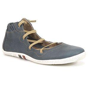 Bota de Cano Baixo Wuell Casual Shoes - Pati - RO12335 - azul
