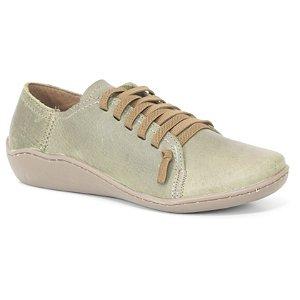 Sapato Feminino em Couro Natural Wuell Casual Shoes - Pati - RO 75010 - verde